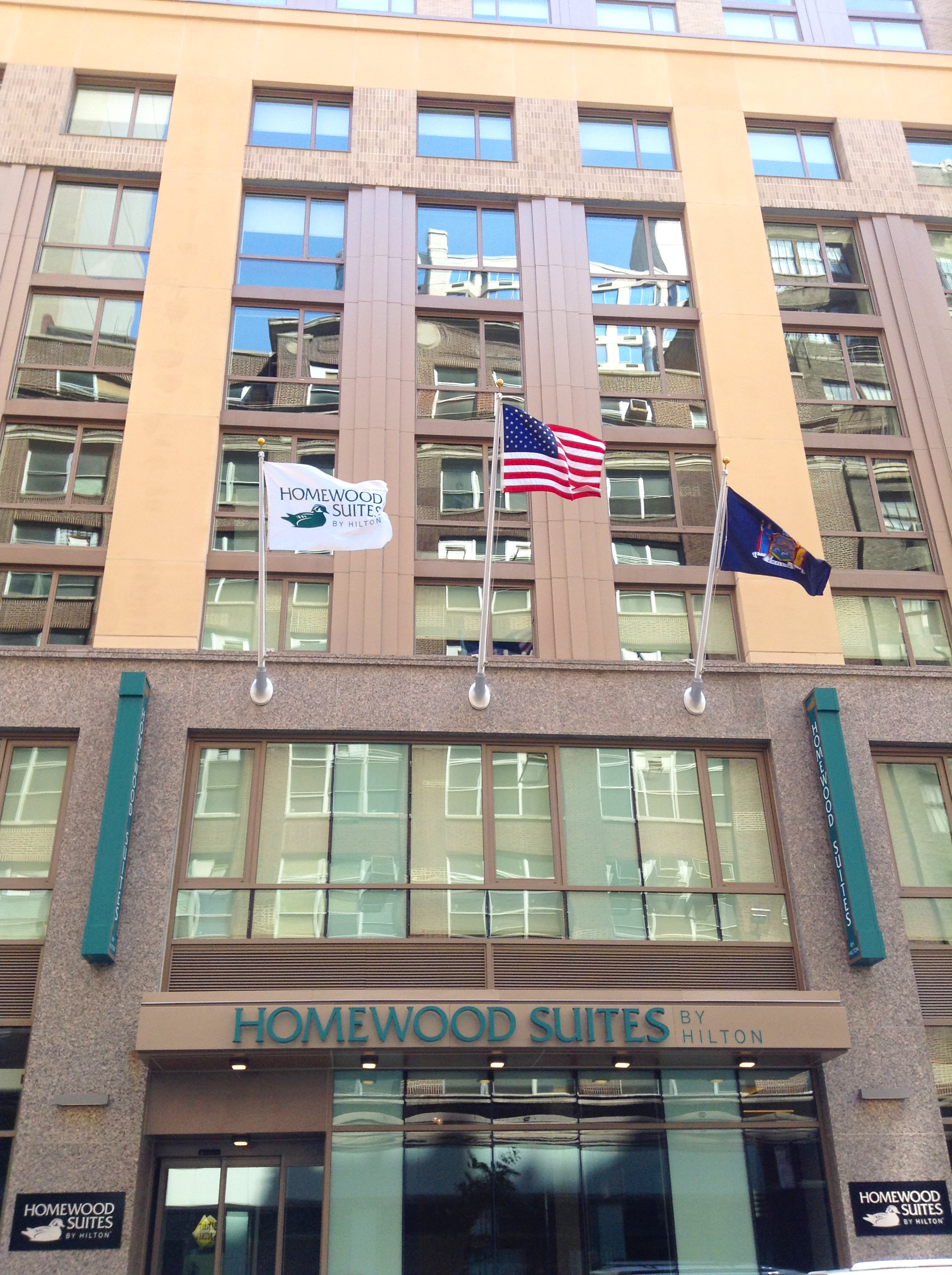 Homewood Suites New York/Midtown Manhattan Times Square South Opened Today, Marking the Brand's First New York City Hotel. (Photo: Business Wire)