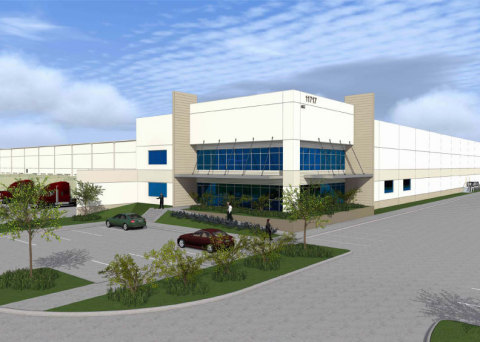 DCT Northwest Crossroads Logistics Centre in Houston (Graphic: Business Wire)