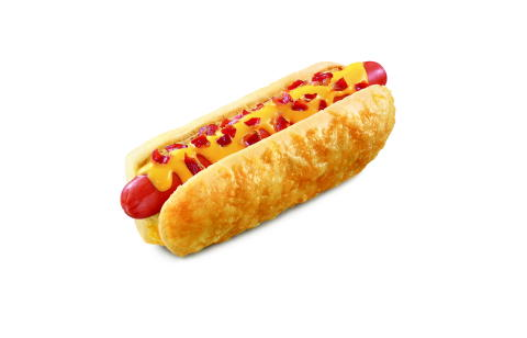 SONIC's Ultimate Cheese and Bacon Cheesy Bread Dog and the Garlic Parmesan Cheesy Bread Dog are a cheese lover's dream, adding to the already impressive lineup of hot dog options at America's Favorite Drive-In. (Photo: Business Wire)