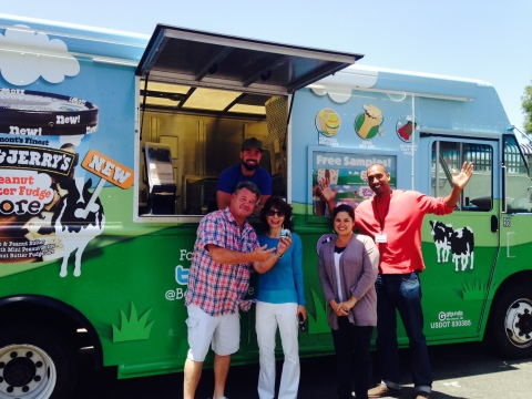 Ben & Jerry's Core Tour scoops out Cores. (Photo: Business Wire)