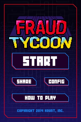 Fraud Tycoon home screen (Graphic: Business Wire)