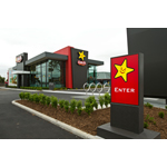 Like the modern architecture of the New Zealand Carl's Jr. pictured, Carl's Jr. and Hardee's restaurants are designed with innovation in mind. (Photo: Business Wire)