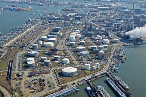 ExxonMobil Refinery Antwerp (Photo: Business Wire)
