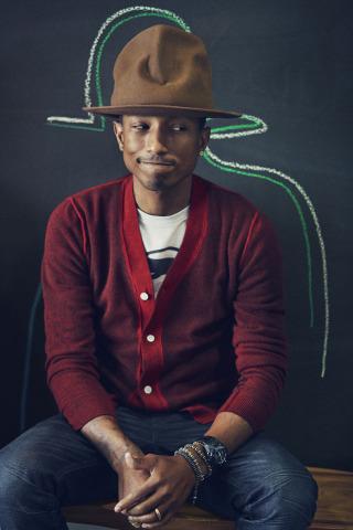 Multi-Grammy Award-Winner Pharrell Williams to Perform at Nickelodeon's Kids' Choice Sports 2014 (Photo Credit: Cass Bird)
