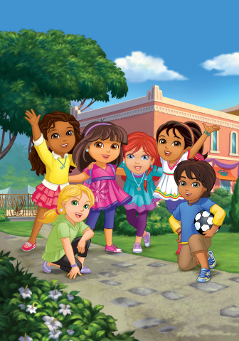 """Nickelodeon's """"Dora and Friends: Into the City!"""" (Graphic: Business Wire)"""