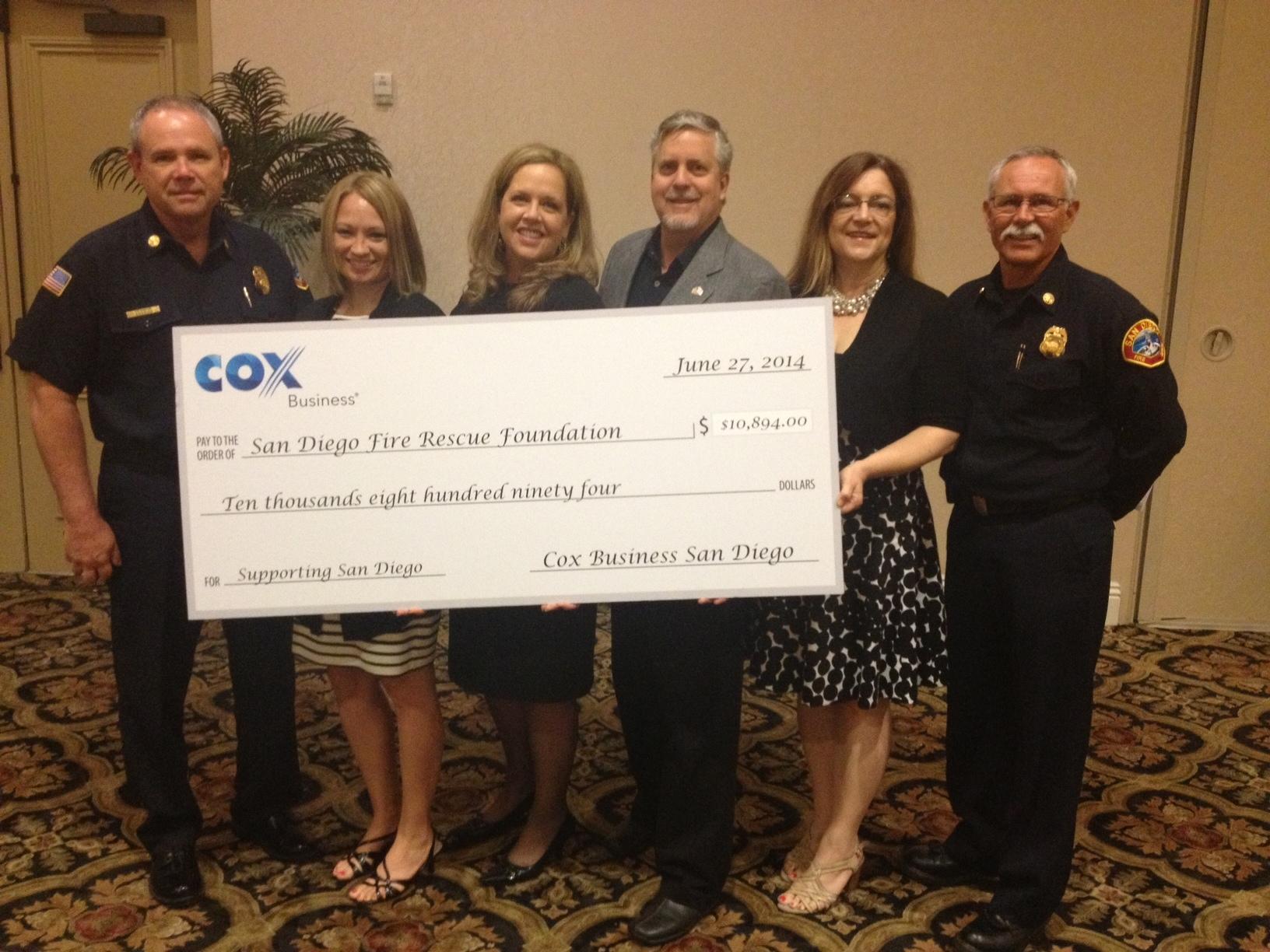 Top Tech Exec Awards Donates Nearly $11,000 to Support San