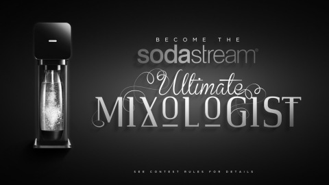 Visit www.facebook.com/SodaStream to learn more about SodaStream's Ultimate Mixologist contest! (Photo: Business Wire)