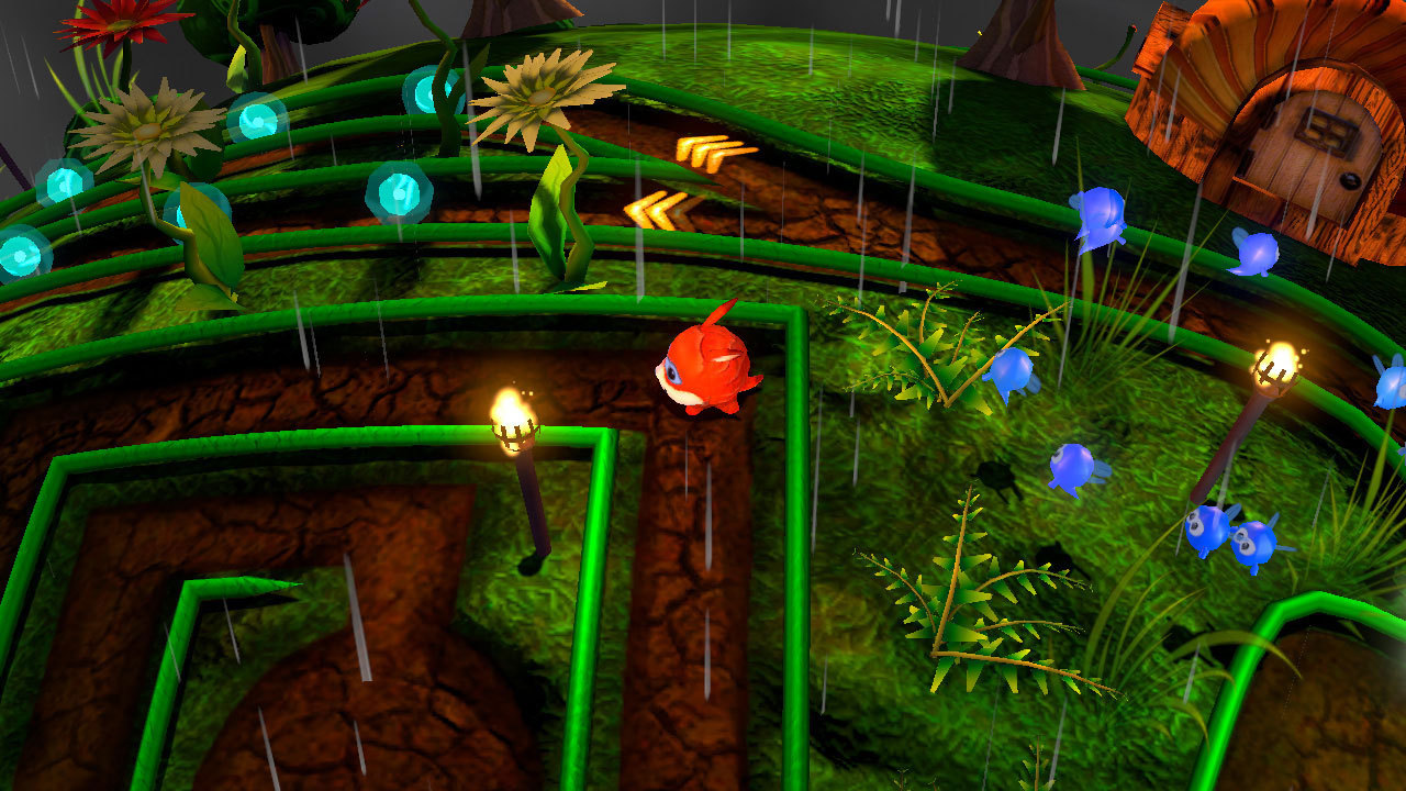 Armillo is a 3D action-platformer with a massive amount of game-play elements that mix the classic with the new. Roll, jump and boost through multiple spherical worlds as Armillo, a space armadillo. (Photo: Business Wire)