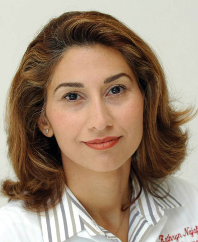 Kathryn Najafi-Tagol, M.D., the founder and director of the Eye Institute of Marin in San Rafael, California. (Photo: Business Wire)