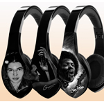 "Samples of Velodyne Art Skins, ""Heroes and Heroine"" Bill Duke Series (Photo: Business Wire)"