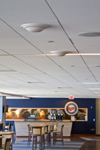 Indoor DAS Antennas at Target Field (Photo: Business Wire).