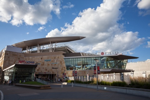 Target Field, Minneapolis, MN (Photo: Business Wire).