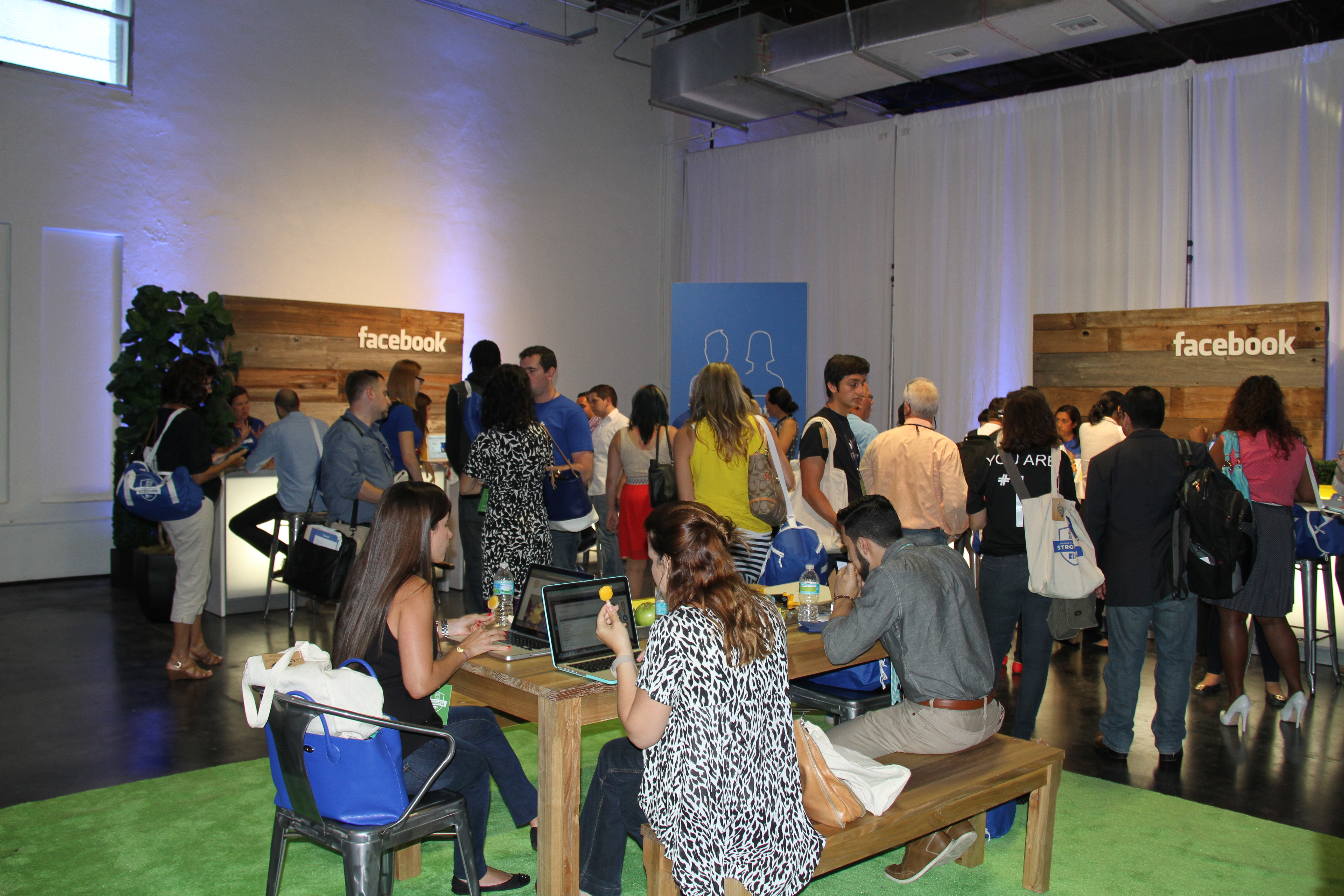 Facebook event Miami. (Photo: Business Wire)