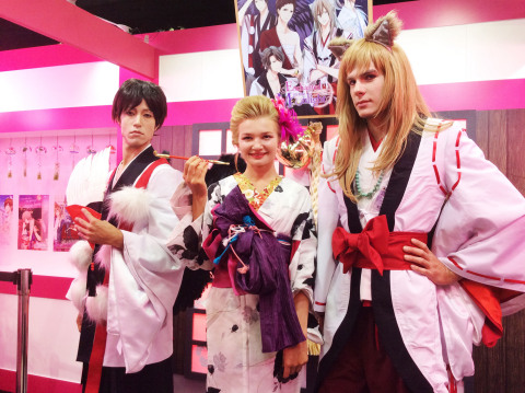"Voltage: Anime Expo 2014 in Los Angeles Bringing you Japan's original ""Romance App"" at a live event. Voltage's booth was filled with visitors from the start, and it ended with great success. (Photo: Business Wire)"