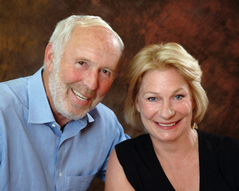 CSHL Vice Chairman Marilyn Simons and Honorary Trustee Jim Simons (Photo: Business Wire)