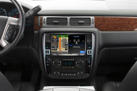 Alpine Electronics is restyling mindsets and vehicle dashboards with the new X009 series Audio/Video ...