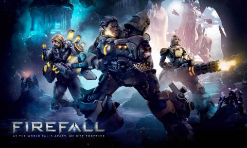 Firefall launches July 29, 2014 and will be available for the PC platform through Steam and Firefall.com (Graphic: Business Wire)