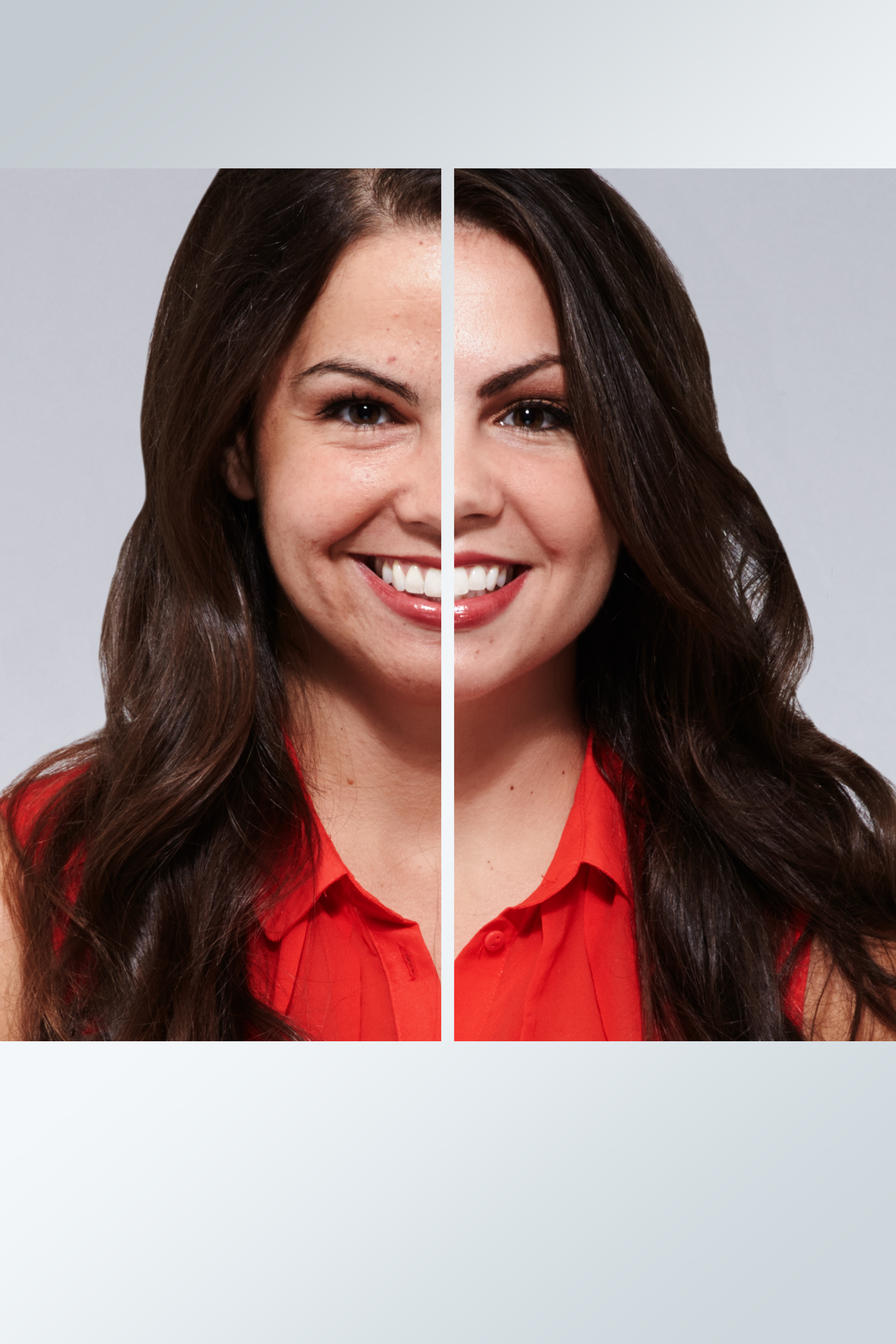 100% of twins using ProX by Olay said they saw improvement to her skin tone. (Photo: Business Wire)