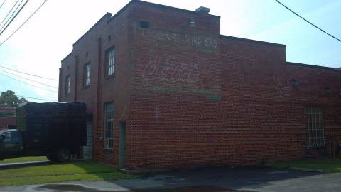 Ghost sign in Ronceverte, WV