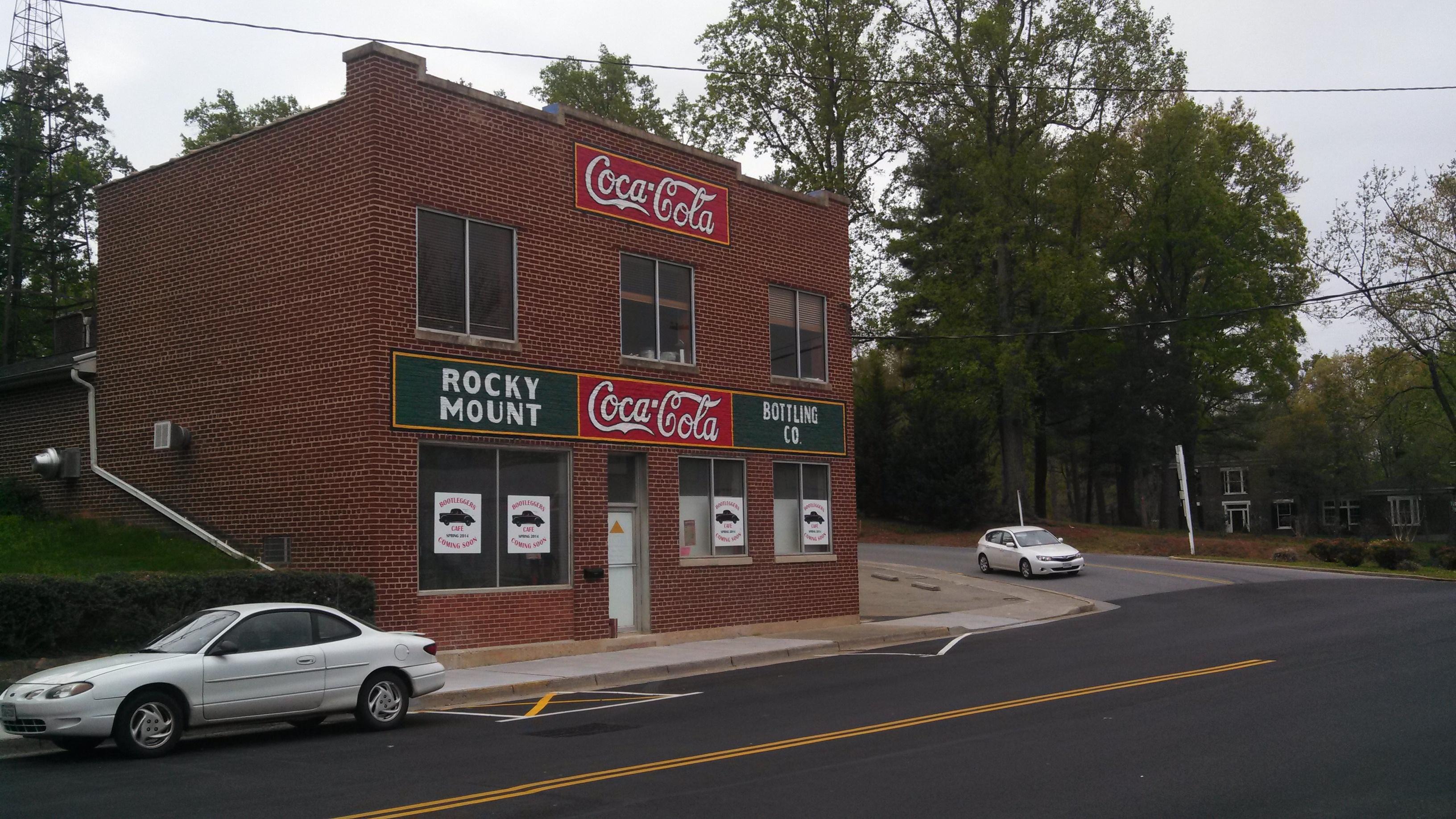 Ghost sign after restoration in Rocky Mount, VA
