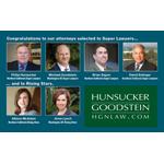 Hunsucker Goodstein Attorneys Named Super Lawyers (Graphic: Business Wire)