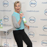 Emmy award-winning actress Jane Lynch partners with Febreze to shed light on a little known condition: noseblindness and to encourage dialogue about what your guests really smell, Wednesday, July 9, 2014, in New York.  Check out her Funny or Die video on the topic at noseblind.com.  (Photo by Diane Bondareff/Invision for Febreze)