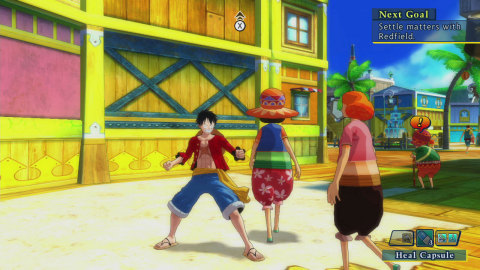 The latest installment of the Unlimited series brings Luffy and the Straw Hat Crew on a new adventure with new characters. (Photo: Business Wire)