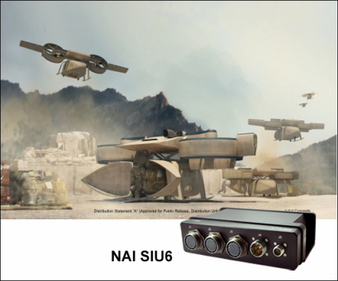 Aerial Reconfigurable Embedded System (ARES) and NAI's Rugged Sensor Interface Unit (Photo: Business ...