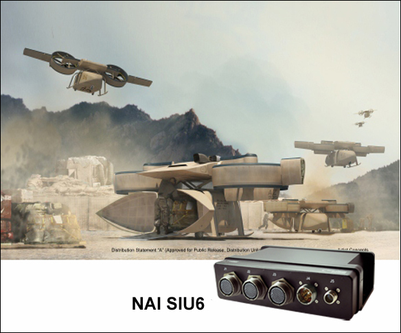 Aerial Reconfigurable Embedded System (ARES) and NAI's Rugged Sensor Interface Unit (Photo: Business Wire)