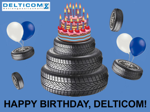 Delticom, Europe's leading online tyre dealer, celebrates its 15 year anniversary. (Photo: Business Wire)