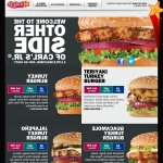 "This week, Carl's Jr. and Hardee's launched their ""Other Side"" websites featuring their not-so-secret menu of lower carb, lower calorie or lower fat options. (Graphic: Business Wire)"