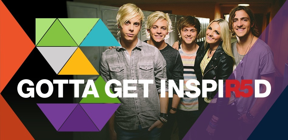 Hollywood Records' R5 joins Office Depot, Inc. in the 'Gotta Get INSPIR5D' campaign (Photo Credit: Office Depot, Inc.)