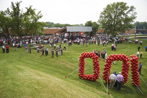 Toro's backyard centennial celebration (Photo: The Toro Company)