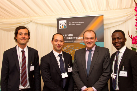 PSE with Energy Secretary Ed Davey at the annual Carbon Capture and Storage Association (CCSA) reception at the House of Lords (Photo: Business Wire)