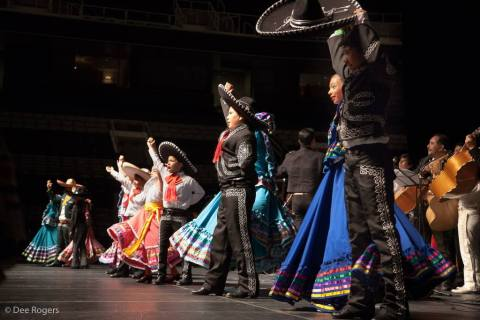 A Mariachi Chorus Line celebrates the 2014 VivaFest! (Photo: Business Wire)