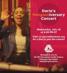 CO-OP Financial Services sponsors July 16 Daria Musk concert, which can be viewed by visiting www.co-opcreditunions.org. (Photo: Business Wire)