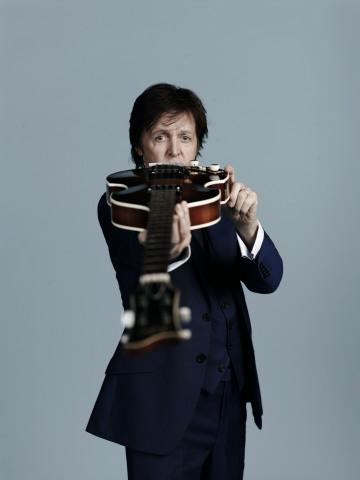 Paul McCartney to Play Historic Fundraiser for Tobin Center (Photo credit: Mary McCartney)