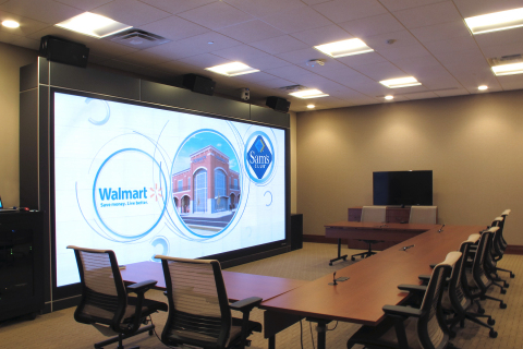 Prysm Video Wall at the CROSSMARK Center for Collaboration (Photo: Business Wire)
