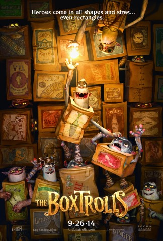 """The Boxtrolls"" (Focus Features) (c) 2014 Panelists: Brain McLean, Rapid Prototyping; Georgina Hayns ..."