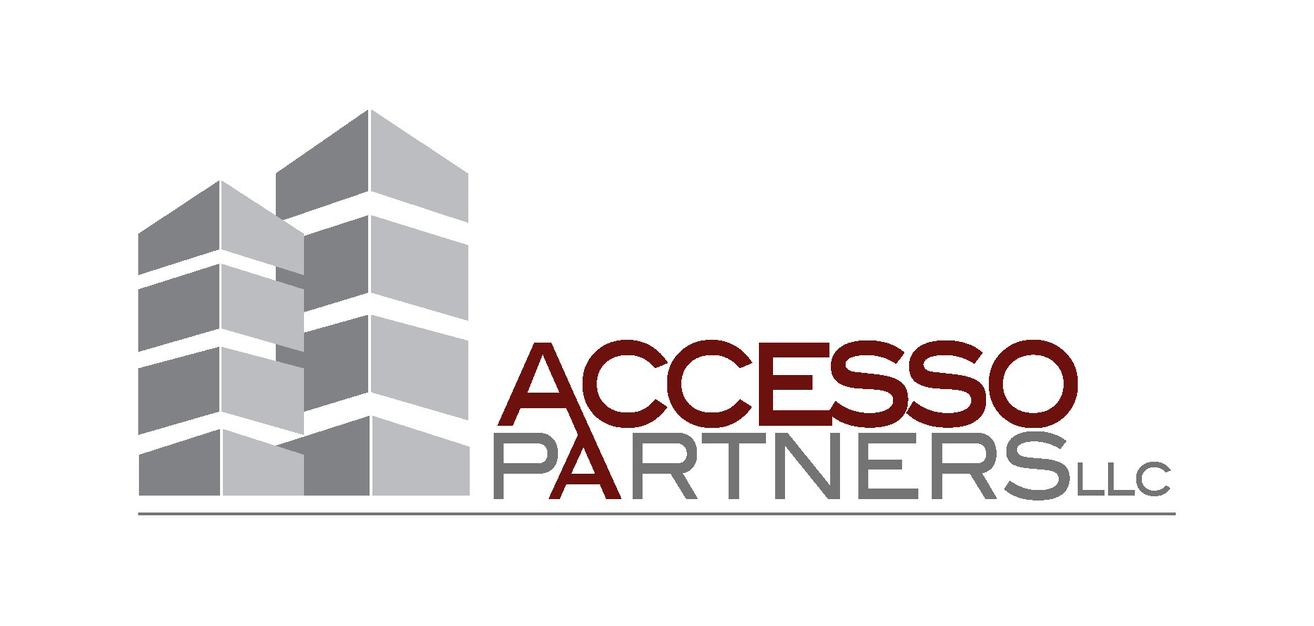 Beacon Investment Properties has a new name, Accesso Partners, LLC, and a new logo. (Graphic: Business Wire)