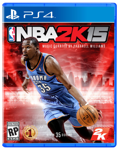 2K today announced a new collaboration with internationally-renowned artist and producer Pharrell Williams to curate the most extensive and unique soundtrack compilation in NBA 2K franchise history for NBA® 2K15, the next installment of the top-selling and top-rated NBA video game simulation franchise*. The partnership brings together one of music's most creative minds with one of the most successful entertainment properties of the last decade. (Photo: Business Wire)