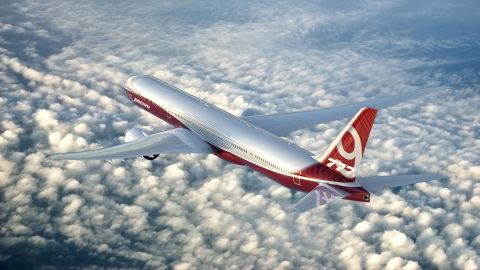 BAE Systems' advanced flight control electronics will help Boeing's 777X aircraft achieve superior flying quality and fuel efficiency. (Photo courtesy of Boeing)
