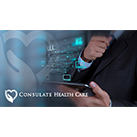 Consulate Health Care Invests in Infrastructure, Including a New Aruba Networks Wireless LAN,  to Meet Critical Patient Care, Clinical and Health Data Initiatives. (Graphic: Business Wire)