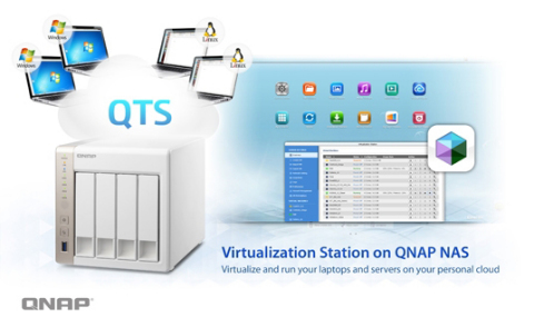 The QNAP TS-x51 virtualization ready NAS. (Graphic: Business Wire)