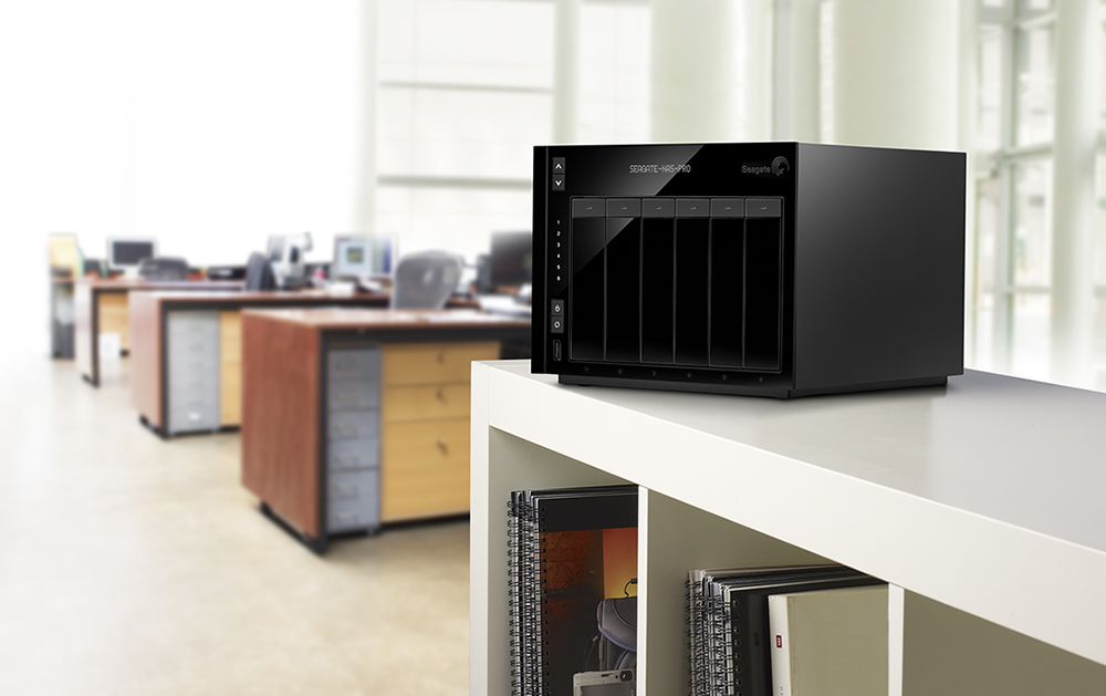 Seagate NAS and Seagate NAS Pro feature a new intuitive operating system, apps for advanced productivity and private cloud for secure remote access. (Photo: Business Wire)