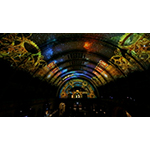 Technomedia's ultra high-definition projection on 65-foot ceiling at Union Station. (Photo: Business Wire)