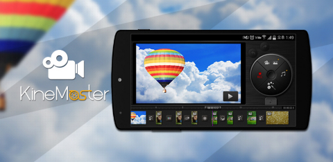KineMaster is the ONLY professional grade mobile video editing app available for Android. Its features allow users to edit everything from a personal home movie to a full length documentary. (Graphic: Business Wire)