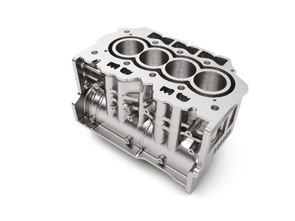 The lubricant concentrate BONDERITE L-CA CP 791 makes it possible to remove light metal castings such as aluminum engine blocks from the die-casting mold easily and without residue. (Photo: Business Wire)