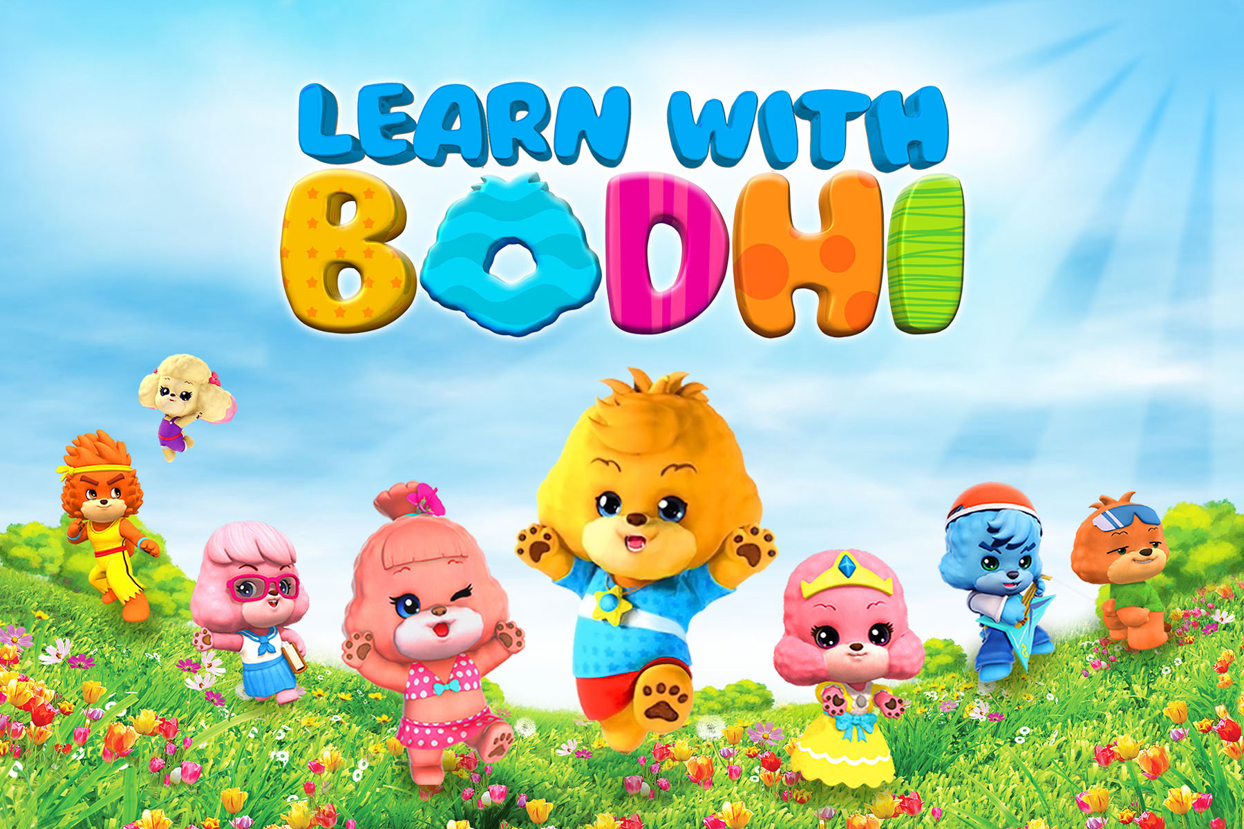 Bodhi and Friends English Learning Platform (Graphic: Business Wire)
