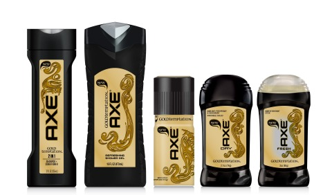 AXE unveils new Gold Temptation fragrance (Photo: Business Wire)
